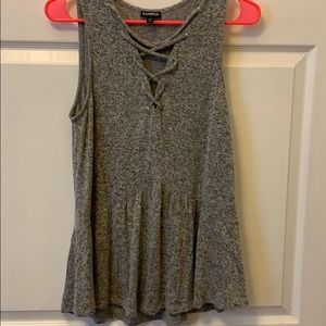 Sweater tank with great details